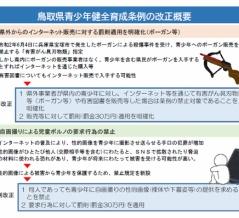 鳥取県、CEROのZ区分に該当するゲームソフトを青少年に販売した事業者に対する罰則を強化-違反した販売店などに対しては30万円の罰金を適用