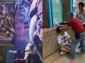 【悲報】映画館でアベンジャーズのネタバレを大声で叫んだ結果、客にアベンジ(逆襲)され流血