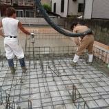 『スピティ武庫元町1丁目モデルハウス基礎工事風景!!』の画像