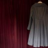 『バックプリーツコートのリメイク。』の画像