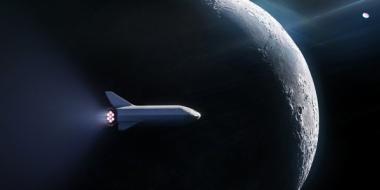 【衝撃】米宇宙ベンチャーの「スペースX」  初の月旅行客を発表、日本人か イーロン・マスクCEOはツイッターに日の丸の絵柄を投稿