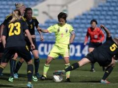 アルガルベカップ2014 GL第3節 日本 vs スウェーデンの結果