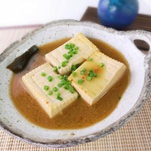 コクがあってヘルシー♪ピリ辛味噌豆腐