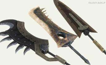 『モンスターハンター』の武器MODパック