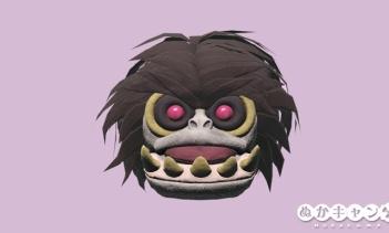 グラフトンモンスターのマスク