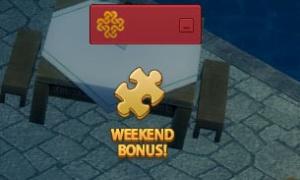 週末のパズルは1時間で2個だった WEEKEND BONUS!