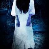 『庭を歩く首のない幽霊をみた家族』の画像