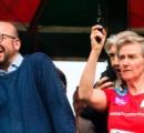 【画像有り】ベルギーのミッシェル首相(41) ベルギー王室のアストリッド王女のピストル発砲で「難聴」に
