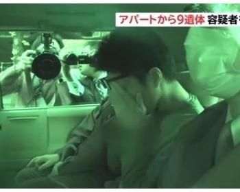 座間アパート9人死体遺棄事件の犯人・白石隆浩、顔を隠す(画像あり)
