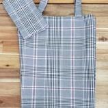 『【大映ミシン オリジナル エコバック】7月1日からレジ袋が有料になったので、折り畳み式ショッピングエコバック(コンパクトにまとめて持ち運べる収納袋付き)を作りました!』の画像