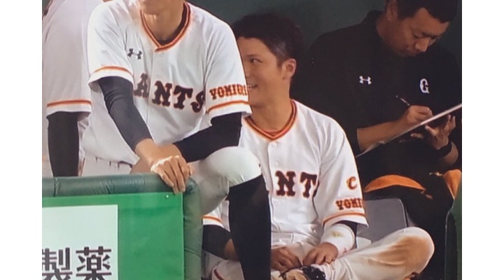 死球で交代した巨人・坂本勇人「全然、大丈夫です!」