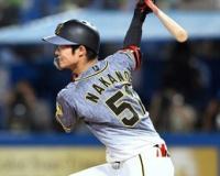 阪神希望の光だ!中野115安打 48年の別当超え球団新人単独8位