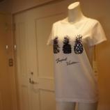 『DUAL VIEW(デュアルヴュー)パイナップルモチーフTシャツ』の画像