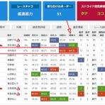 ストライド競馬新聞 [新]外厩データ