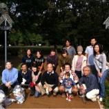 『戸田市市役所南通り・朝の清掃活動』の画像