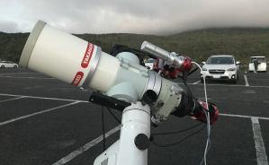 天体写真用の機材をテスト