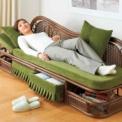 読書にテレビにお昼寝に。ゆったり体を伸ばせる極厚ク…