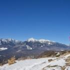 『雪の飯盛山へ☆ヒップソリはサイコー!!』の画像