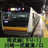 『南武線 車窓[下り・1]川崎→武蔵溝ノ口』の画像