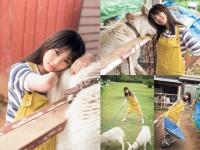 【乃木坂46】やっぱ与田ちゃんはヤギと写真撮るのが1番ええな...(画像あり)