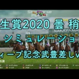 『弥生賞2020:ディープ記念で燃える武豊!』の画像