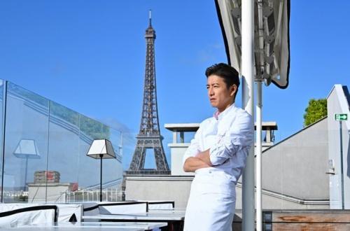 キムタク、主演ドラマがパリの三ツ星レストランで撮入「絶対、面白いものにします!」のサムネイル画像