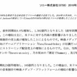 """『【乃木坂46】凄すぎ!SONYの""""2016年度 決算報告書""""に『乃木坂46』の文字が!!!』の画像"""