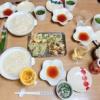 半田めんと天ぷらの週末ごはん