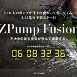 『2/27 先行予約スタート 3/10 発売 Reebok ZPump Fusion 』の画像