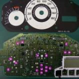 『マツダ デミオ メーターパネルのLED打ち換え(LED交換)手術』の画像