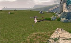 捨てられたアートンシミニ様の姉の野営地です