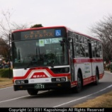 『岐阜バス 三菱ふそうエアロスター PKG-MP35UM』の画像