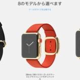 『Apple WATCHという時計とMacBook 12インチ、13インチのMacBook Pro Retina、他周辺機器も含めて値上げ!』の画像