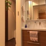 『【web内覧会】TOTO洗面台は開口750のコンパクトタイプ』の画像