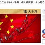『楽天証券「トウシル」に僕の来年の中国株の展望が掲載されました』の画像