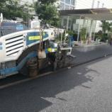 『愛知県安城市 工場駐車場アスファルト舗装の修繕工事』の画像