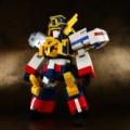 レゴで勇者特急マイトガイン定刻通りに只今完成しました!