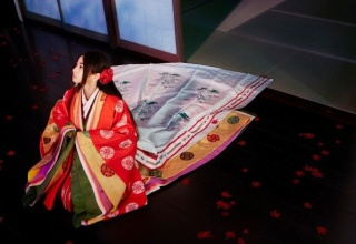 【画像あり】倉木麻衣の十二単姿wwwww