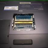 『SONY VAIOノートPC(PCG−Z77/B)メモリースロットのハンダ割れ手術』の画像