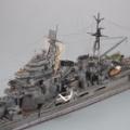1/700  フジミ  旧帝国海軍  重巡洋艦  摩耶  製作  9 最終回