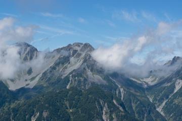 蝶ヶ岳登山
