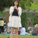 人の集まる公園でひらすらシャボン玉を作り続ける非日常的だけどもまったりな光景