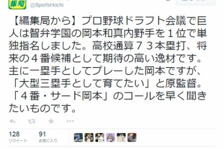 【悲報】報知、ナチュラルに村田修一さんをディスるwwwww alt=