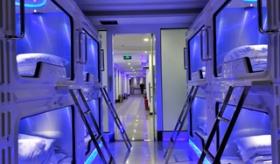 【世界の中国】  中国はじまってた・・・。 中国のカプセルホテルが 未来的空間を 完全再現 していて凄い。  【海外の反応】