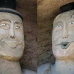 【中国】頭部が破壊された仏像、修復され完成した顔がヤバい!とネットで話題に [海外]