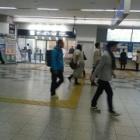 『国鉄尼崎の夕方』の画像