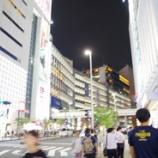 『9月の新宿の街と自宅の花』の画像