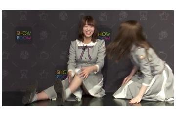 北野日奈子さん、完全パンチラ。