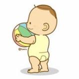 『赤ちゃんのイラスト』の画像