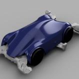 『ミニ四駆のボディをモデリングしてみる』の画像